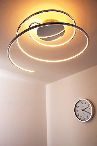 LED Deckenleuchte Ringos Spirale 24 Watt – 1300 Lumen - 8