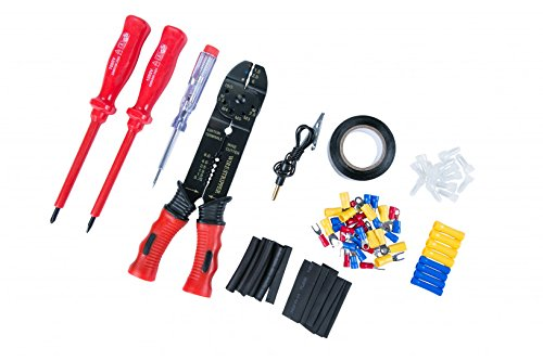 Werkzeugset für Elektroinstallationen,82-teilig