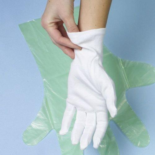 Polierhandschuhe Eindeckhandschuhe 100% Baumwolle