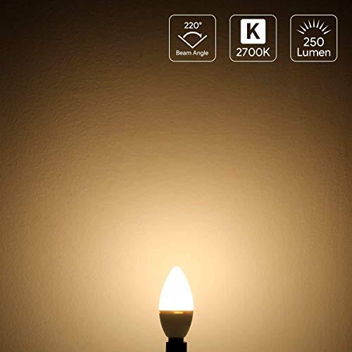 E14 LED Lampen, Ersatz für 30W Glühlampen Warmweiß, 5er Pack - 2