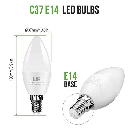 E14 LED Lampen, Ersatz für 30W Glühlampen Warmweiß, 5er Pack - 3