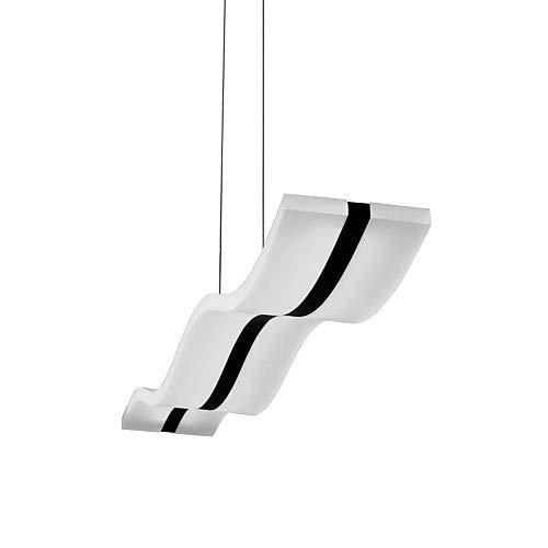 Moderne LED-Deckenleuchte, Wellen-Form, 40W - 4