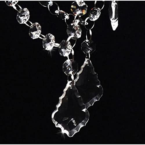 vidaXL Kristall Kronleuchter mit 2800 echten Glas Kristallen - 3