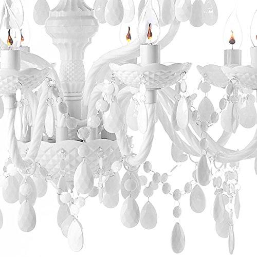Design Kronleuchter – 15 armig – Acrylglas Design Kronleuchter - 4
