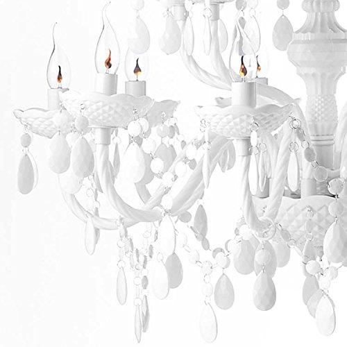 Design Kronleuchter – 15 armig – Acrylglas Design Kronleuchter - 3