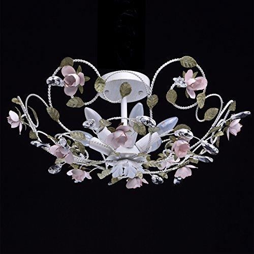 Kronleuchter Pendelleuchte Kristall klassisch Chic-Stil Metall Florentiner Ø - 3
