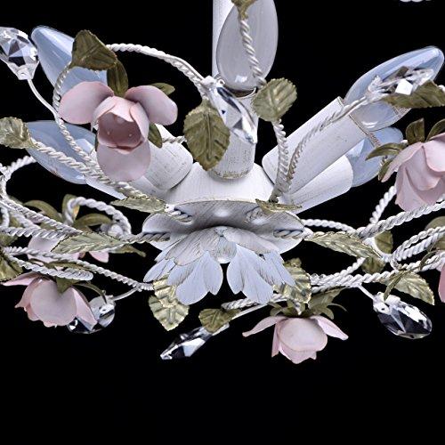 Kronleuchter Pendelleuchte Kristall klassisch Chic-Stil Metall Florentiner Ø - 7
