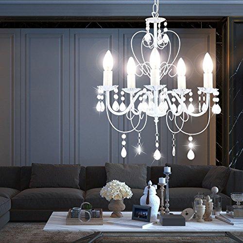 15 Watt LED Kronleuchter Decken Lampe Lüster Hängelampe Beleuchtung - 3