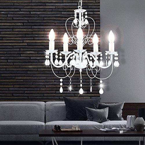 15 Watt LED Kronleuchter Decken Lampe Lüster Hängelampe Beleuchtung - 8