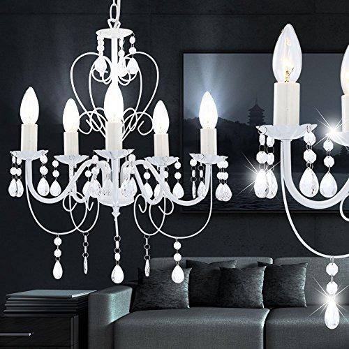 15 Watt LED Kronleuchter Decken Lampe Lüster Hängelampe Beleuchtung - 5