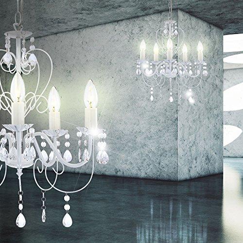 15 Watt LED Kronleuchter Decken Lampe Lüster Hängelampe Beleuchtung - 10