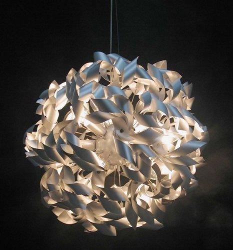 Design Hängeleuchte Silber aus Metall - 2