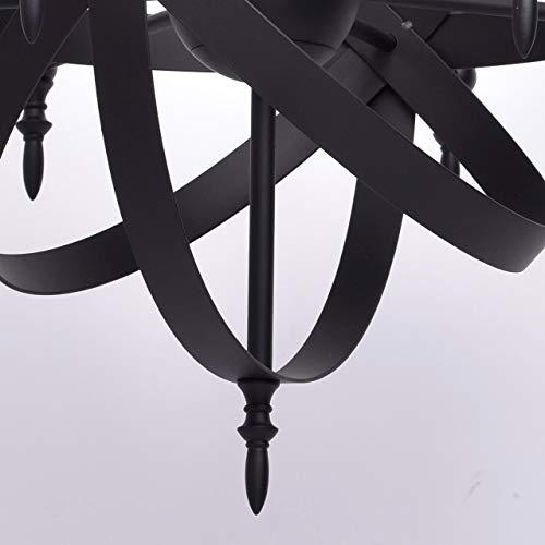rustikale pendelleuchte mittelalterlicher kronleuchter mit kerzen 8 flammig landhausstil. Black Bedroom Furniture Sets. Home Design Ideas