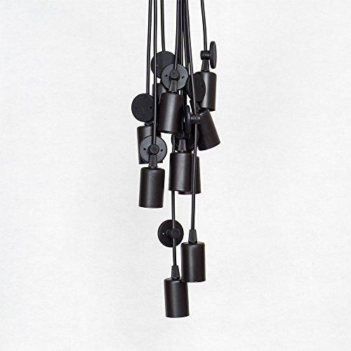 Vintage Industrie Kronleuchter Pendelleuchten - 4