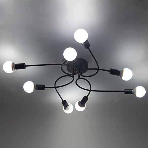 Industrielampe Deckleuchte Schmiedeeisen