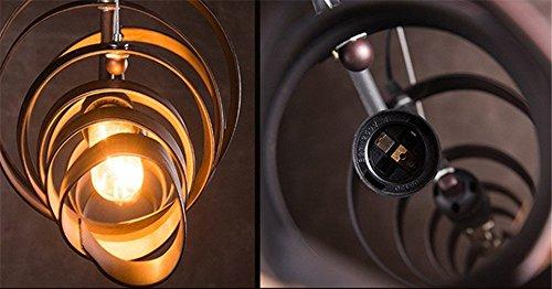 BAYCHEER Industrielampe Kronleuchter Eisen Lampe Länge 70cm Bar Loft Design Leuchte - 4