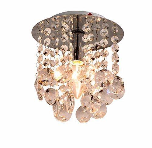 Kristall-Deckenlampe, einfacher Kristallleuchter