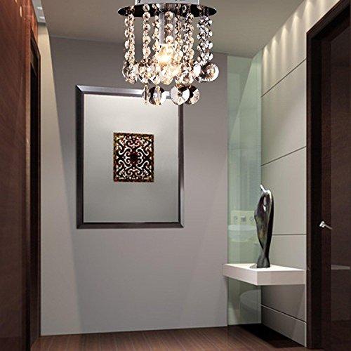 moderne 1 Stück-Kristall-Deckenlampe, einfacher Kristallleuchter für Verbindungsgang, stilvoller Kristallleuchter für Korridor - 3