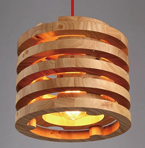 Anjz@Deckenleuchte Lampshade Pendelleuchte kreative Bar Restaurant Vintage-Befestigungs-Leuchters/110v-220v/Size:26cm*28cm - 4