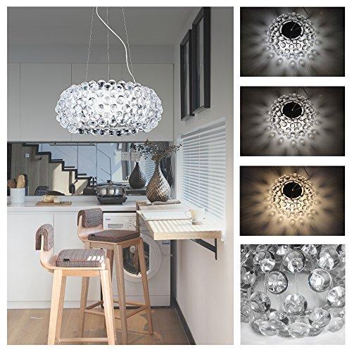 Hengda® Modern Acryl Kronleuchter LED 3in1 Farbwechsel