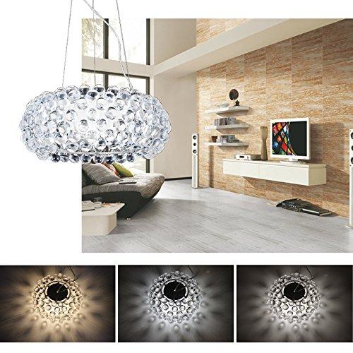 Hengda® Modern Acryl Kronleuchter LED 3in1 Farbwechsel - 6