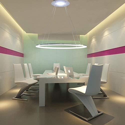 Ouku Leuchte modernes Design Wohn LED-Ring - 3