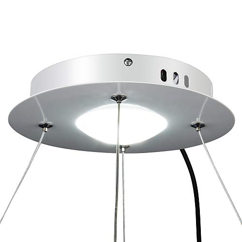 ouku leuchte modernes design wohn led ring. Black Bedroom Furniture Sets. Home Design Ideas