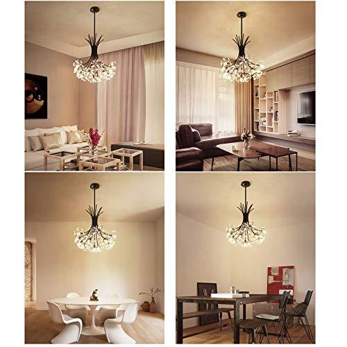 LED Kristall-Kronleuchter Schlafzimmer - 3