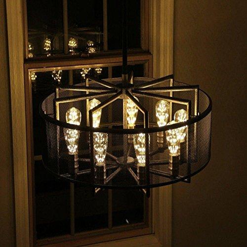 Vintage Beleuchtung, VSOAIR LED-Birnen mit 3W ST64 Weinlese-Edison-Feuerwerk - 3