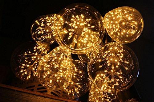 KINGSO E27 ST64 LED Stern Edison Glühbirne 3W 47led Dekorative Vintage Glühlampe Kronleuchter Deko Birne Ideal für Nostalgie und Retro Beleuchtung 220V mit Zertifikat Warmweiß - 8