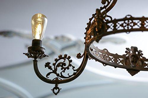 OSRAM LED Vintage Edition 1906 / LED-Lampe in Edison Form mit E27-Sockel / Nicht Dimmbar / Ersetzt 35 Watt / Klar / Warmweiß – 2700 Kelvin / 1er-Pack - 12