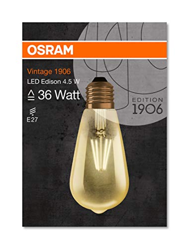 OSRAM LED Vintage Edition 1906 / LED-Lampe in Edison Form mit E27-Sockel - 3
