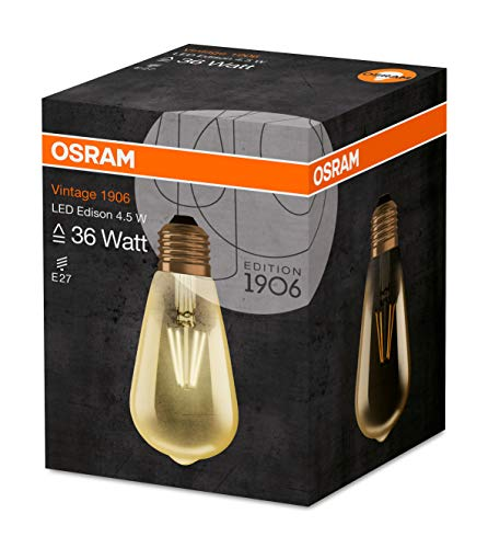 OSRAM LED Vintage Edition 1906 / LED-Lampe in Edison Form mit E27-Sockel - 4