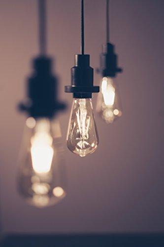 OSRAM LED Vintage Edition 1906 / LED-Lampe in Edison Form mit E27-Sockel / Nicht Dimmbar / Ersetzt 35 Watt / Klar / Warmweiß – 2700 Kelvin / 1er-Pack - 9