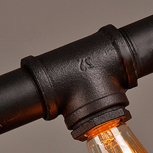 Retro Klassische Wasserrohr Hängelampe Industrie - 8