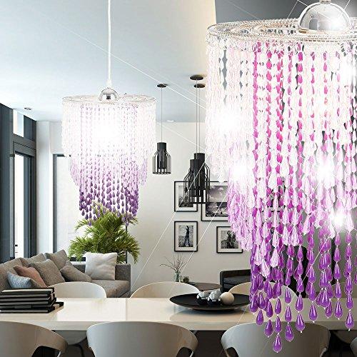 Design Pendel Leuchte Kristalle Decken Lampe Beleuchtung Luster Globo 16002+A1 -