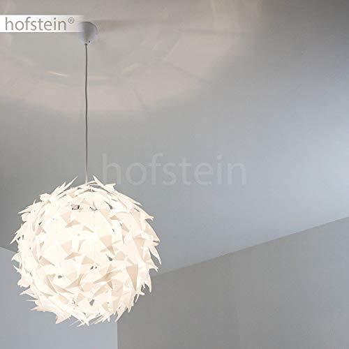 Weisse Hängeleuchte DOKKAS Pendellampe passend für die moderne Einrichtung - 3
