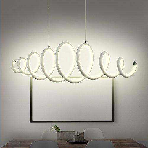 n3 lighting moderne design led pendelleuchte esstischleuchte h henverstellbar dimmbar. Black Bedroom Furniture Sets. Home Design Ideas