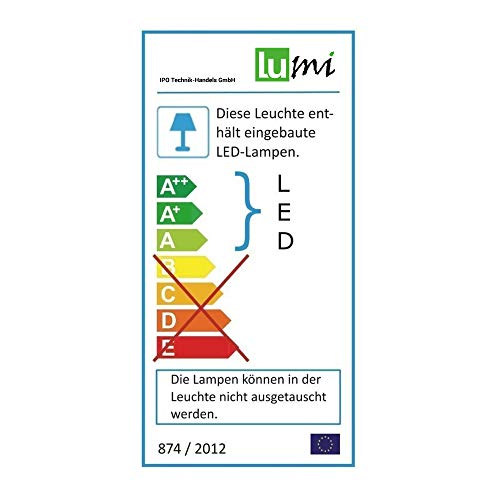Lu-Mi® LED Pendelleuchte Höhenverstellbar Küchen Deckenleuchte - 9