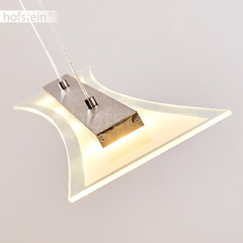 Dimmbare LED Hängeleuchte Hefei 4 x 4 Watt 1280Lumen 3000 Kelvin Lichtfarbe warmweiss - 9