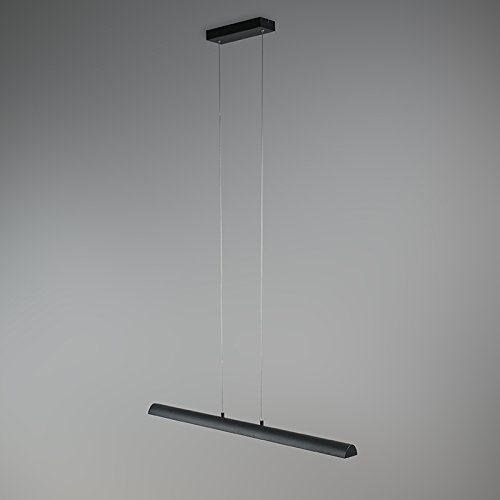 QAZQA Modern Esstisch Pendellampe 4-flammig schwarz-Gold - 2