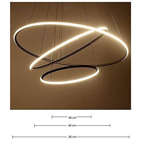Saint Mossi® Exklusiv Modern Hängelampe LED Lichtquelle Integriert - 9