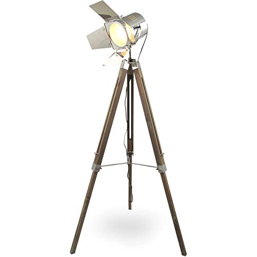 MOJO® Stehleuchte Tripod Lampe Dreifuss Urban Design höhenverstellbar mq-l37 - 3