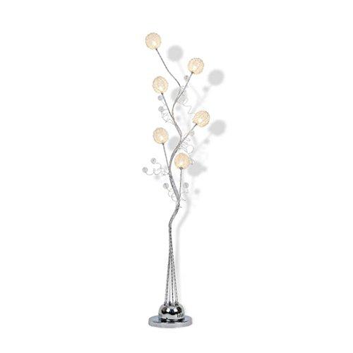 Irgendeine Heimatlampe Led Fernbedienung vertikale Stehleuchte, Aluminium Couchtisch vertikale Lampe moderne einfache kreative Stehleuchte ( ausgabe : Fernbedienungsschalter ) - 3