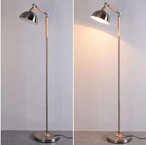 Stehlampe Schlafzimmer Studieren Wohnzimmer Schlafzimmer minimalistische moderne kreative Persönlichkeit Stehleuchte europäischen hölzernen vertikalen Tischlampe Stehlampe lesen, Nachttischlampen - 6