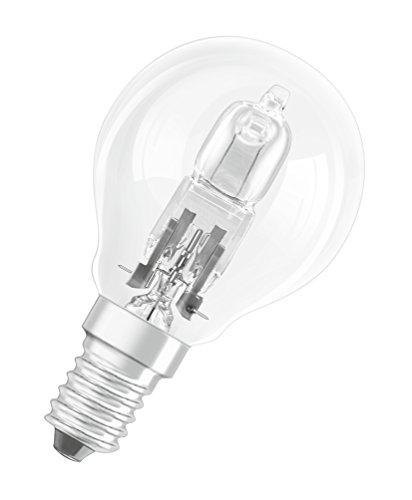 OSRAM Halogen-Lampe, Classic P, E14-Sockel, Dimmbar, 30 Ersatz für 40 Watt 2700K, Glas, E14, W, Warmweiß, 10er Pack, 10 Einheiten - 2