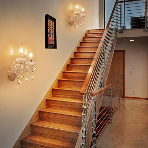 Windstoß Fadenlampe, E14, LED Birne als Kolbenlampe, warmweiß - 5