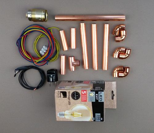 Steampunk-Leuchter-DIY-Kupfer