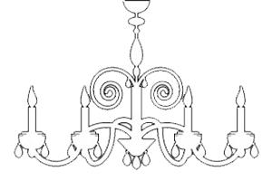 kronleuchter-weiß