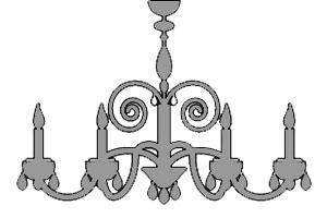 kronleuchter-grau